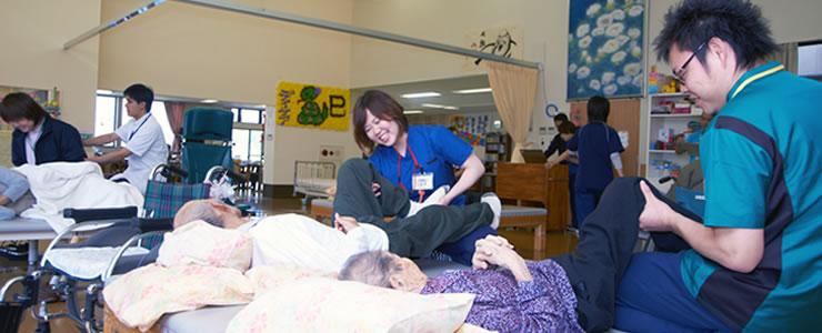 介護分野のサービス 入所