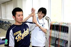 理学療法士の活躍分野 スポーツリハビリ