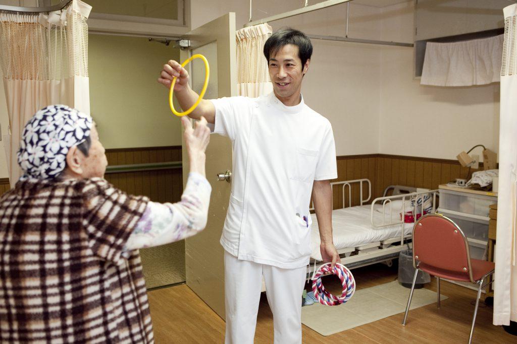作業療法士の活躍先 医療・福祉領域